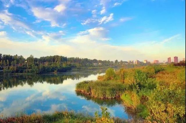 冬天的汝河国家湿地公园_美篇