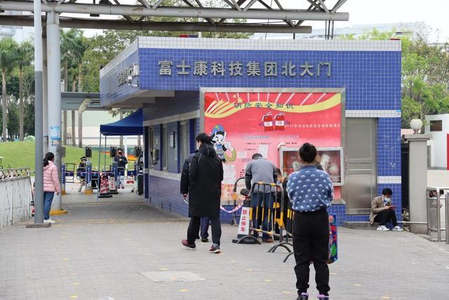 郑州富士康车间照片