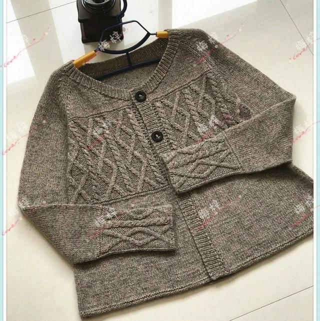 开衫毛衣的编织方法介绍 其中这三个步骤是关键