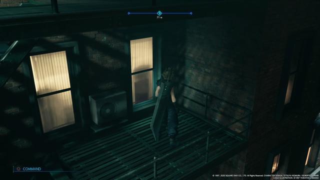 《最终幻想7重制版》的空调外机也太写实了吧