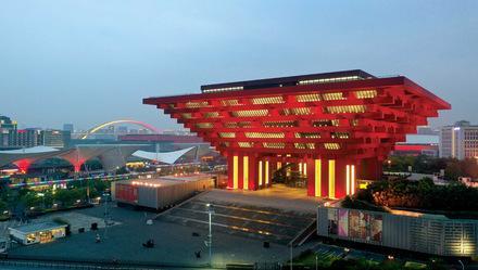 上海自然博物馆图片