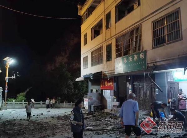 已知2人被困!云南昭通市巧家县发生5.0级地震 震源深度8千米
