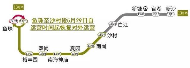 广州地铁13号线近日消息 地铁13号线路线图提前曝光-广州吉屋网