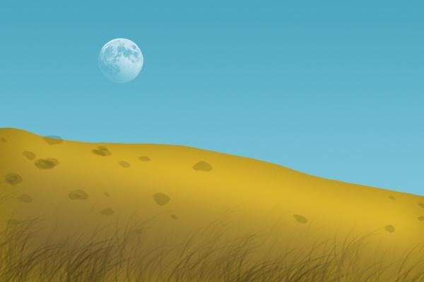 Tại sao đôi khi tôi có thể nhìn thấy mặt trăng trong ngày?