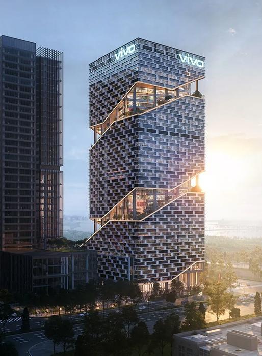 vivo深圳新总部工程对公众亮相 预计2025年中投入使用