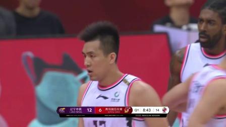 辽宁大胜青岛 辽宁队全场38投13中