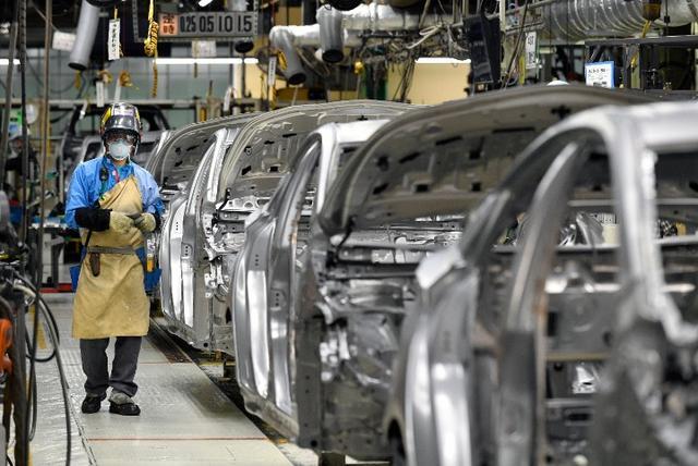 日本车企国内产量降幅创纪录