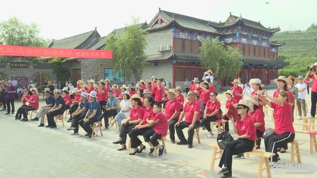 """渭南市朗诵协会举办""""致敬母亲河""""黄河采风诵读活动"""