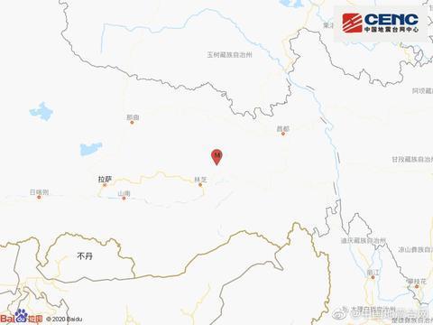 林芝卫星地图