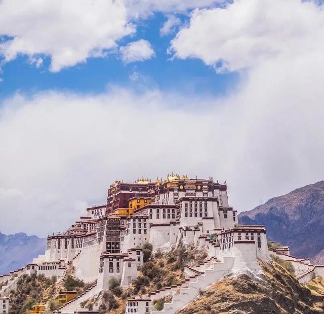 西藏布达拉宫图片大全
