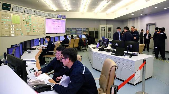 石岛湾核电站图片