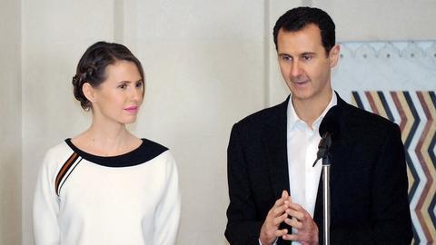 叙利亚总统夫人年轻的相片