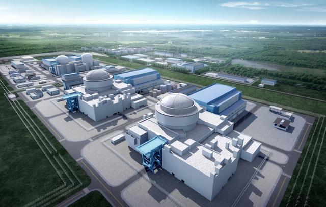 山东石岛湾核电站图片