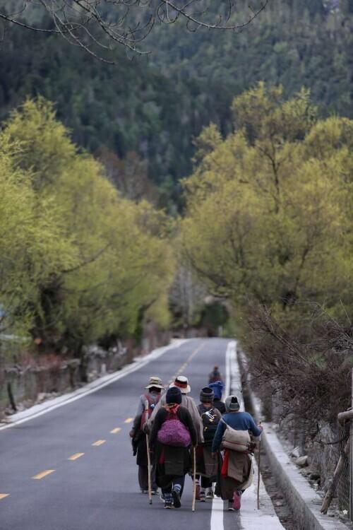 西藏旅游最佳路线图