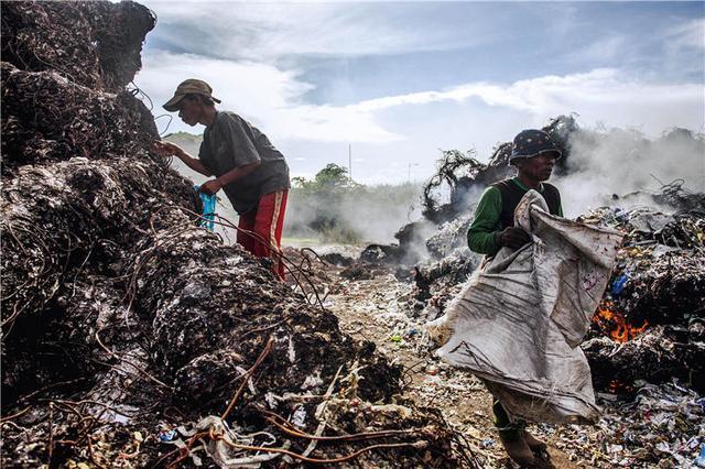 """大陆""""洋垃圾""""禁令后,佛山杏坛废塑企业从2000家跌至102家在产,东南亚也因无法消化巨量洋垃圾而限制进口"""