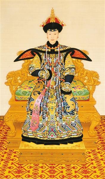 古代皇后头饰图片