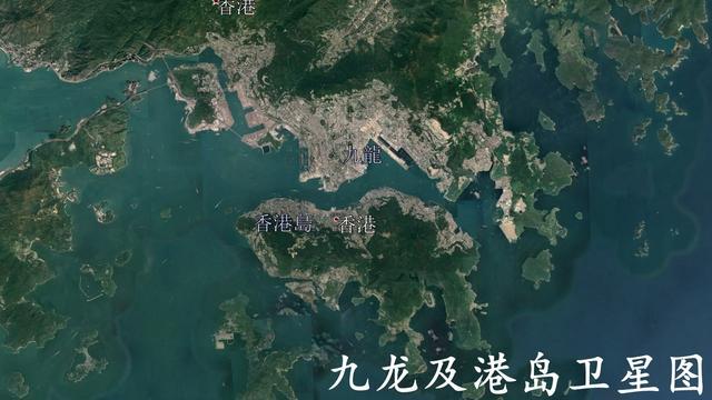 香港地图简笔画
