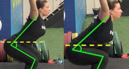 同样做深蹲,你知道偏向练腿与偏向练臀,动作细节的变动在哪吗?