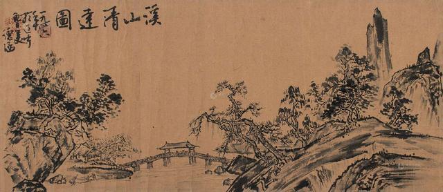 中国传统字画展图片
