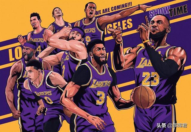 组图:NBA球星的漫画头像,詹皇似钢铁,库里呆萌_东方头条