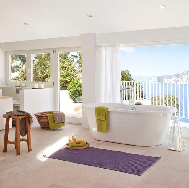 带浴缸小卫生间效果图