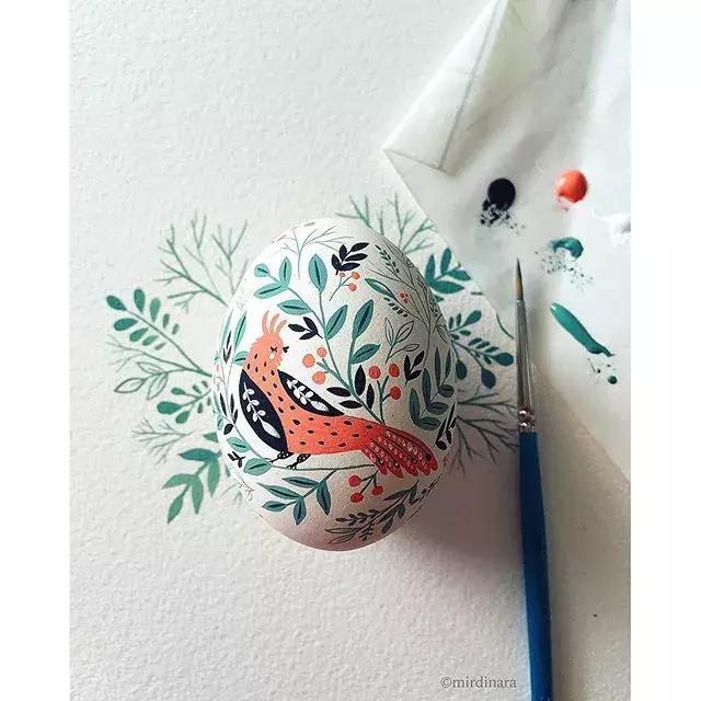 幼儿园蛋壳手工制作 - 小学生蛋壳贴画创意手工作品 - 可吉网