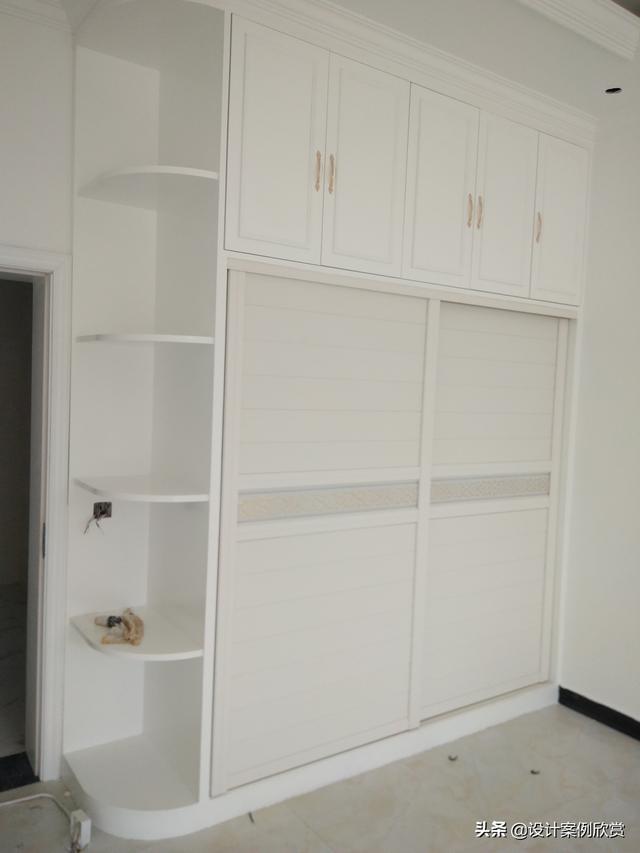 实景拍摄的12个卧室衣柜设计,每一款都可以参考