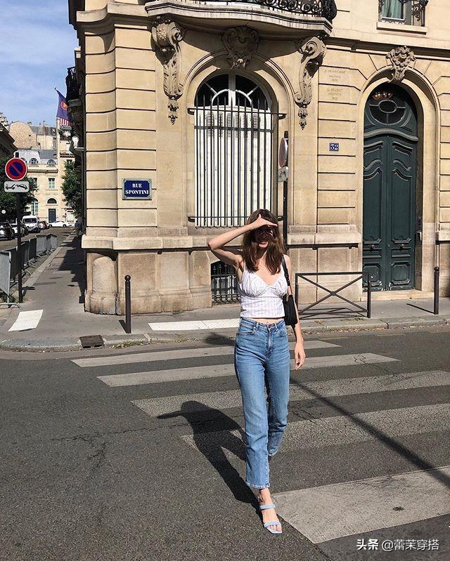 跟法国姑娘学这6组夏季搭配方式,简约清爽,出街回头率猛增