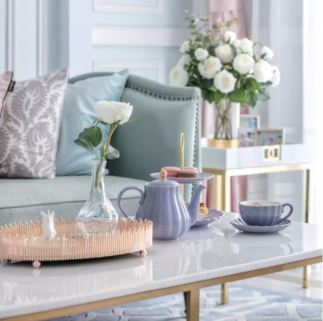 法式风格配色也很讲究,一起来感受法兰西的浪漫情怀