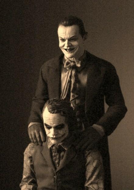 小丑男和小丑女情头