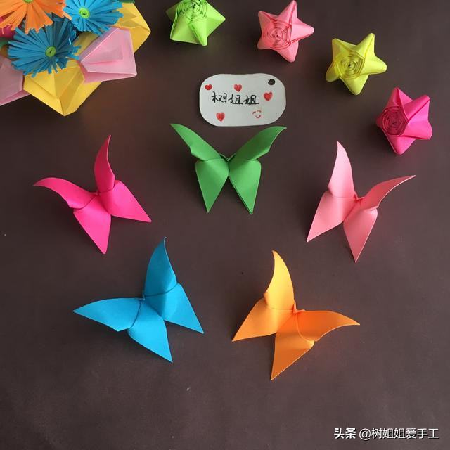 手工日记# 只需1个正方形折出的褶皱蝴蝶_网易视频