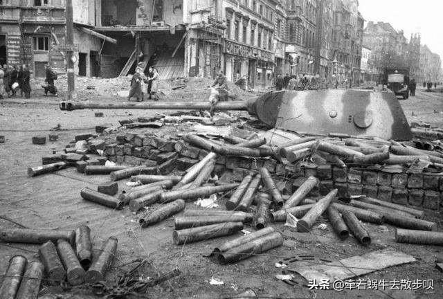 半小时打光2000车皮的炮弹,柏林会战是苏军特有的大场面之战