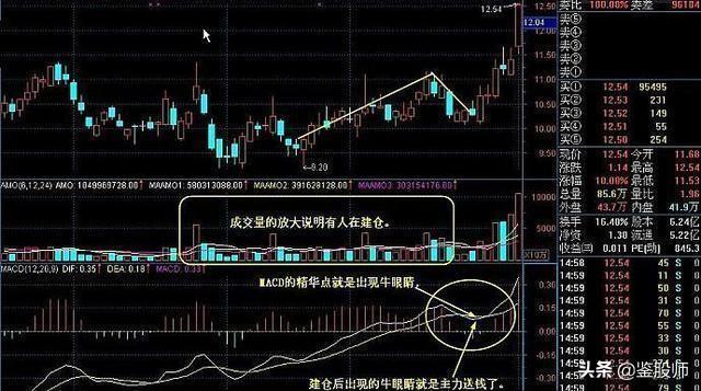 中国股市:MACD牛眼睛战法,果断跟上,次日直线拉升,值得收藏
