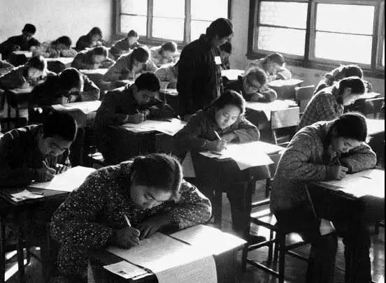 这些老图片,带你唤醒关于高考的记忆