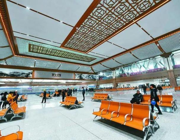 2021年西安火车站图片