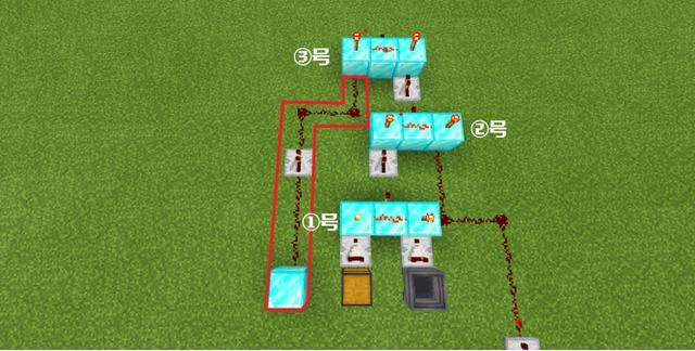 红石刷钻石机教程