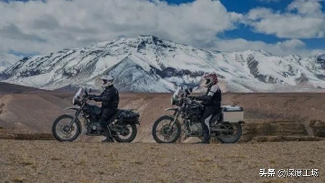 印军摩托车部队抵达拉达克,大马力山地摩托车:6万一辆灵活快速