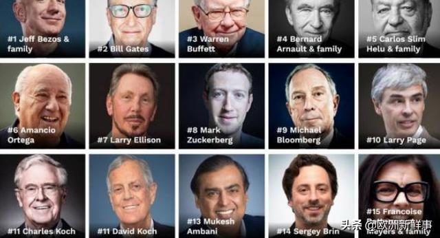 福布斯全球最具影响力人物排行榜(历年榜单汇总)→M... _买购网