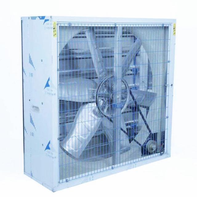 养殖场安装负压风机