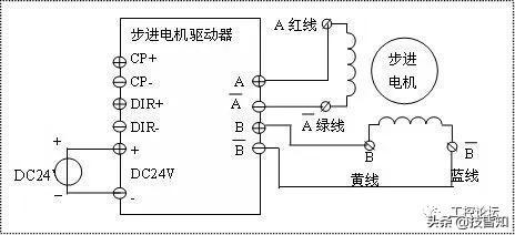 6线步进电机接线图