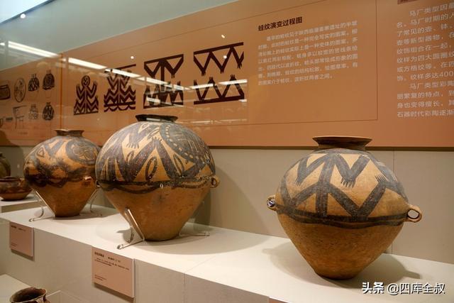蛙纹:青海出土的马家窑文化马厂类型彩陶纹饰的一大特色