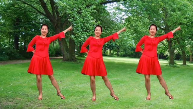 经典老歌广场舞《相伴一生》歌声甜蜜,歌词感人!