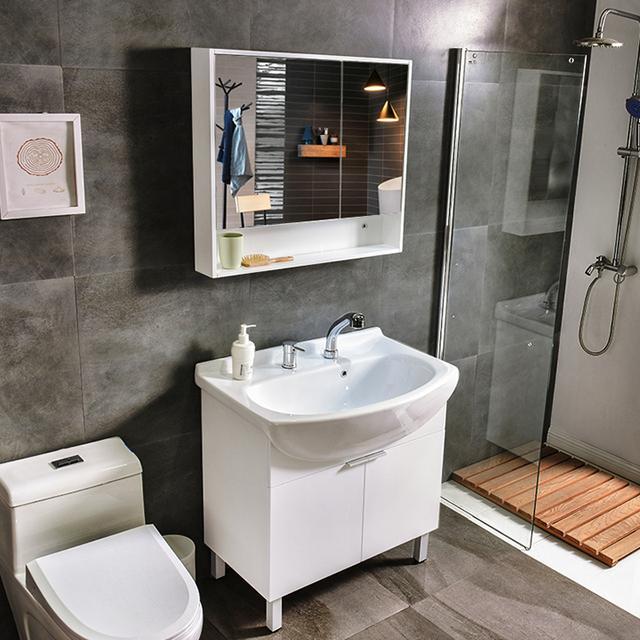 卫生间台盆柜效果图室内设计图片大全 - 设计本