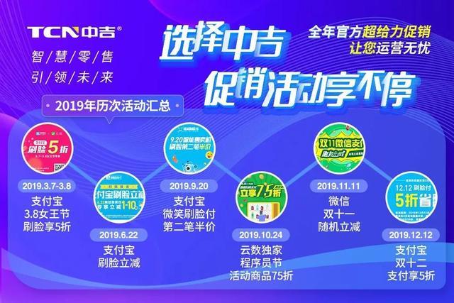 """重磅福利!中吉+云数""""软硬件""""双联合,助力售货机行业快速增长"""