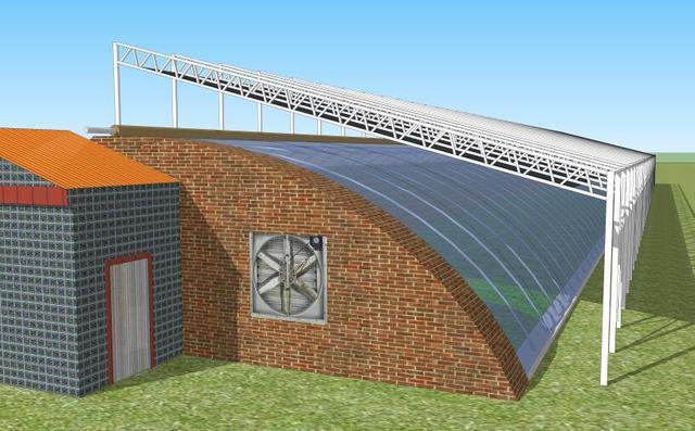日光温室结构优化设计及综合配套技术_图片_耕种帮种植网