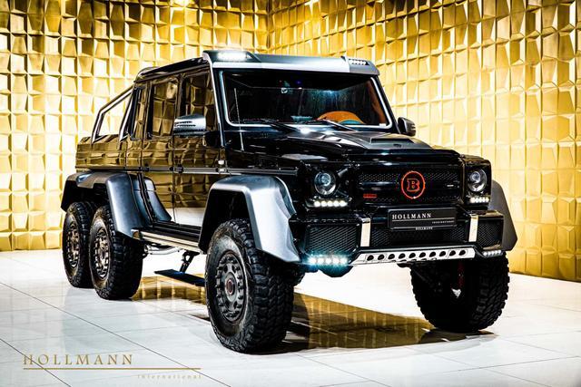 售价超100万美元,动力达700马力,巴博斯改装的奔驰G63 AMG 6×6