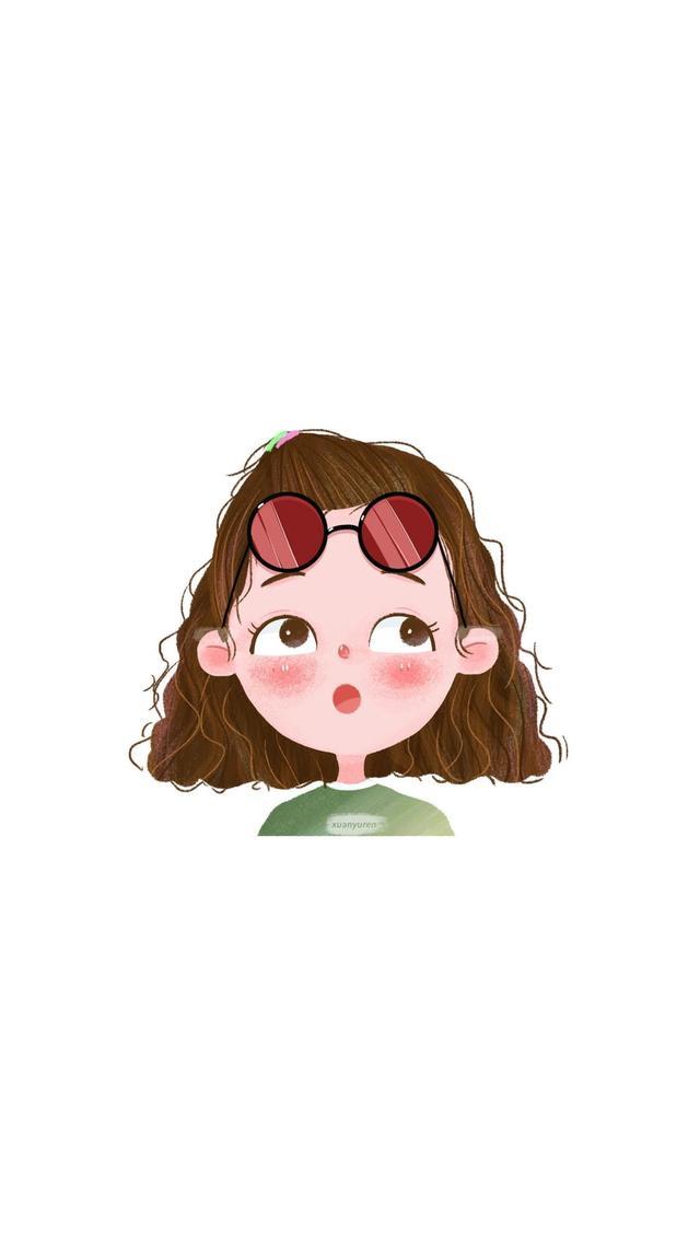 女生可爱头像卡通粉色