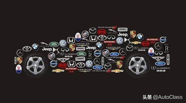 史上最全的汽车标志图,认识了你就是汽车大神