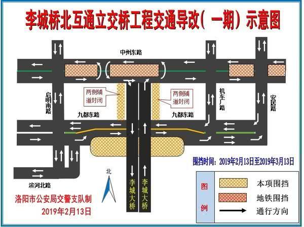 @洛阳人,九都路涧东路口通行方式有变!绕行路线... _手机搜狐网