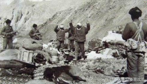 1962年中印战争:解放军用白刃战消灭一百多印度兵